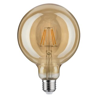 Paulmann 283.80 LED Filament Vintage Globe125 Retrolampe 4W E27 Gold EEK A+