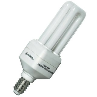 Light Me LM84005 Energiesparlampe 7W=35W Leuchtmittel E14 Warmweiss