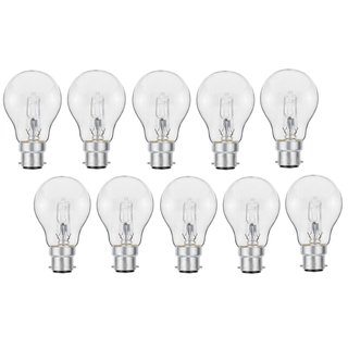 10er Set Luminizer 3030 Classic Eco Halogen A55 B22 28W=34W dimmbar warmweiss