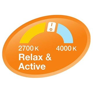Osram LED Relax & Active Kerze Lampe E14 Leuchtmittel 5W=40W Warmweiß Clickdimm